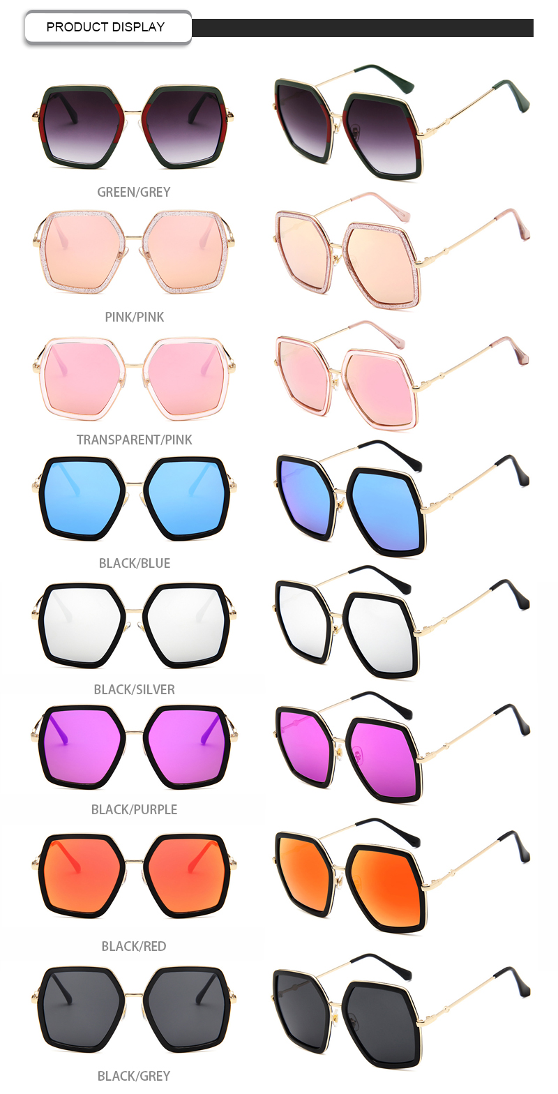 Fuqian Wholesale women's polarized mirrored sunglasses manufacturers-11