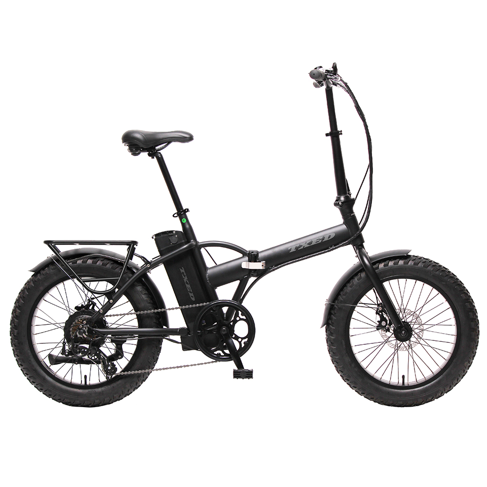 20 Inch Bicycle Suspension Snow Bike Mountain Folding Electric Bike 500W