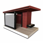 Factory Custom Modern Outdoor Eco-friendly Pet Home Cheap Wooden Dog House