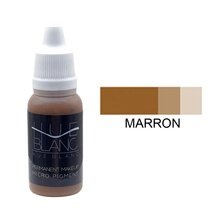 Marron, <span class=keywords><strong>Professionele</strong></span> Make-Up Pigment Wenkbrauwen Eyeliners Lippen Pigment Tint Blanc Korea
