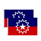 new products 100% polyester outdoor juneteenth flag printing