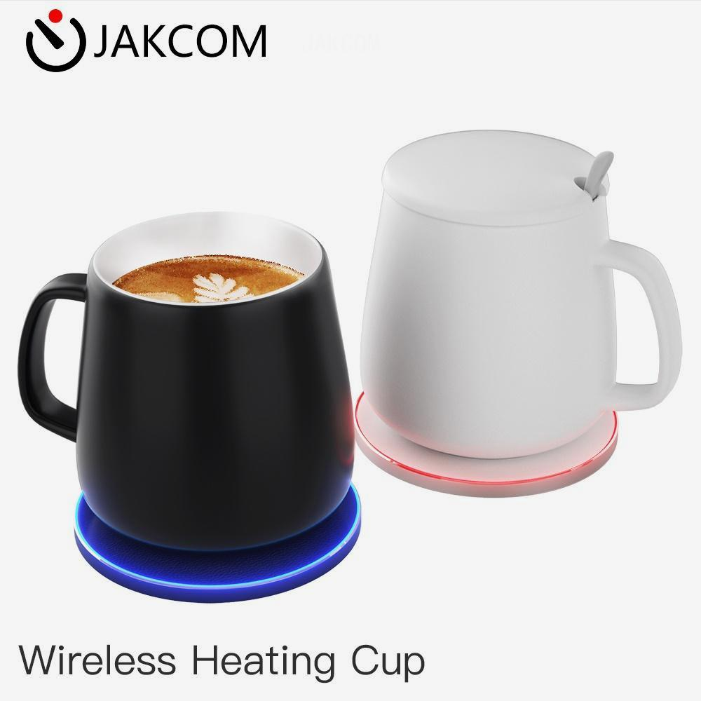 JAKCOM HC2 Wireless Heating Cup of <strong>Tea</strong> Cups Saucers likewhite bone china <strong>tea</strong> <strong>set</strong> coffee <strong>porcelain</strong> 750ml plastic cup cat and