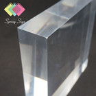 Super Thick PMMA Material Outdoor Anti UV 25-300mm Glass Acrylic
