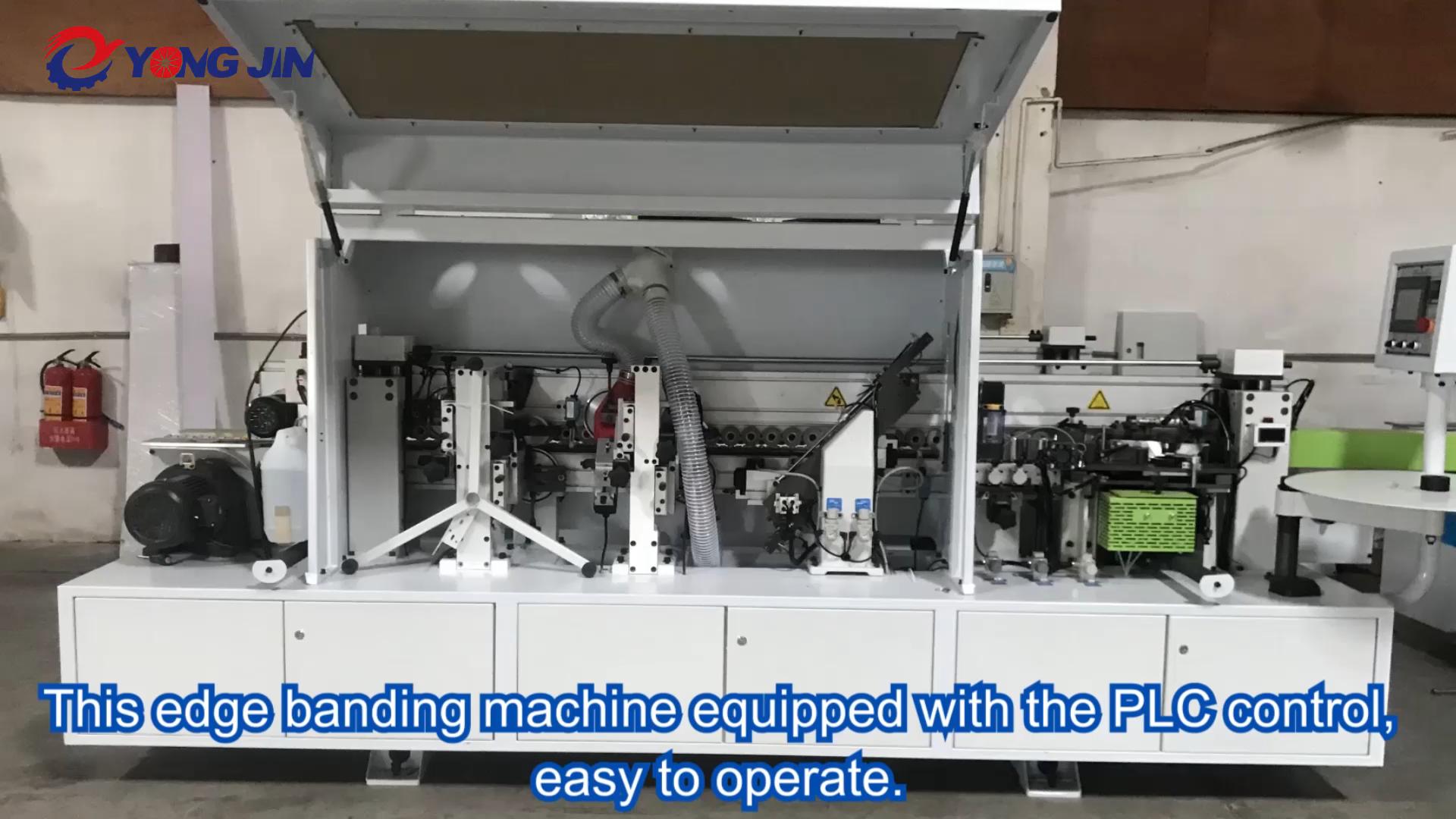 YJ-365 Woodworking Automatic Straight Line Edge Banding Machine