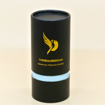 custom empty cosmetic paper tube make up packaging