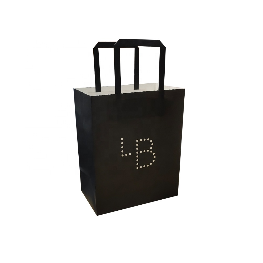 Cheap Paper bags With Logos Printing For Shoe Shopping