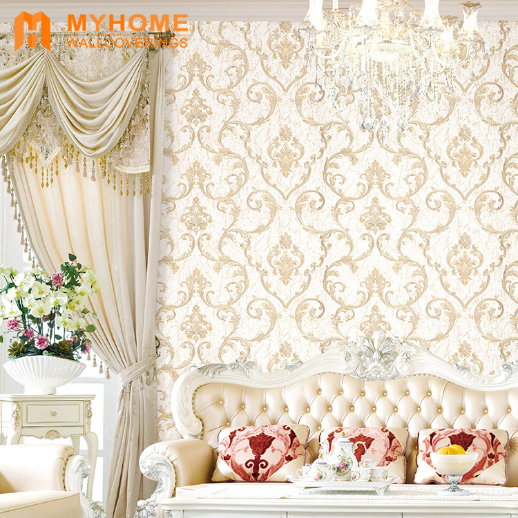 new arrival luxury wall paper rolls home wallpapers