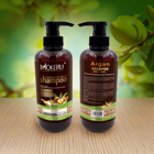 pure herbal extract shampoo for moisturizing and repairing hair care argan oil shampoo with 500ml