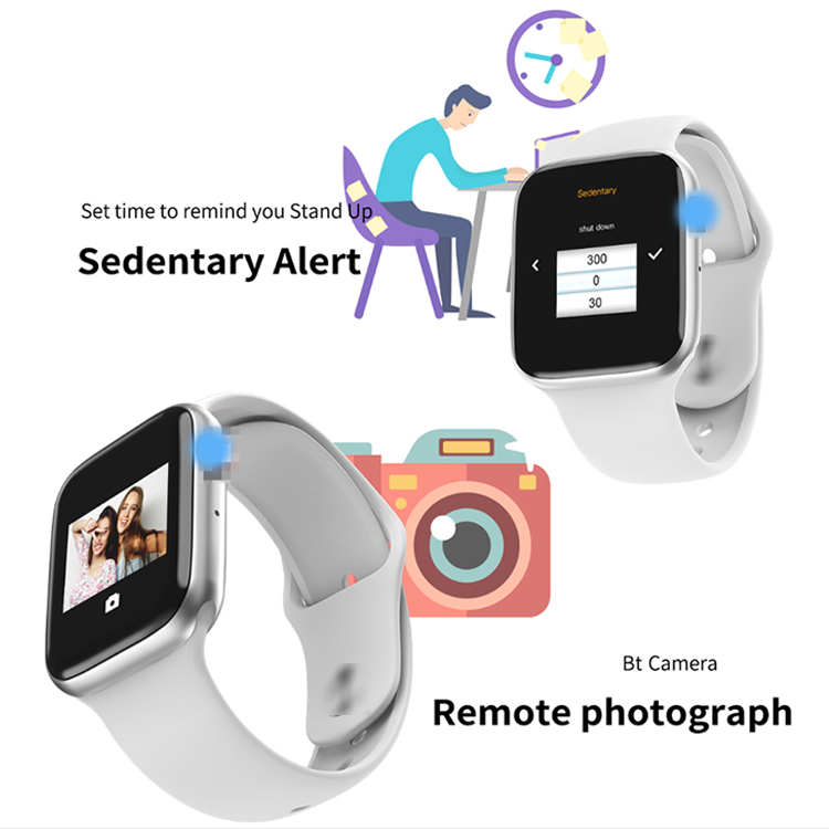 HOT sale full round display smartwatch w34 touch screen sport wristwatch with heart rate monitor smart watch W34