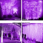 Christmas Led Light Christmas Party Wedding Home Decoration Christmas Fairy Led Icicle Garlands Waterproof 300 LED Curtain Fairy String Light
