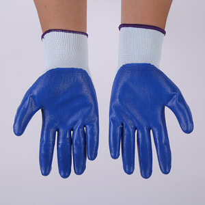 Safety Nitrile Gloves Rubber Nitrile Gloves