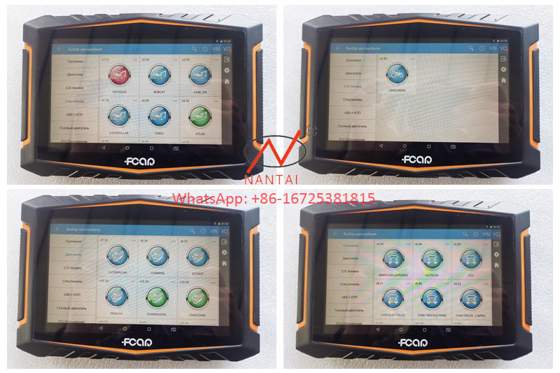 FCAR Scanner Auto Diagnostic Tool Cars Scanner for Diesel Vehicle CPU Testing with Factory Lower Price
