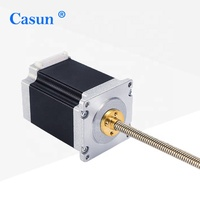 CE Approved 1.8 degree NEMA 23 Hybrid Stepper Motor Captive Linear Actuator with Lead Screw