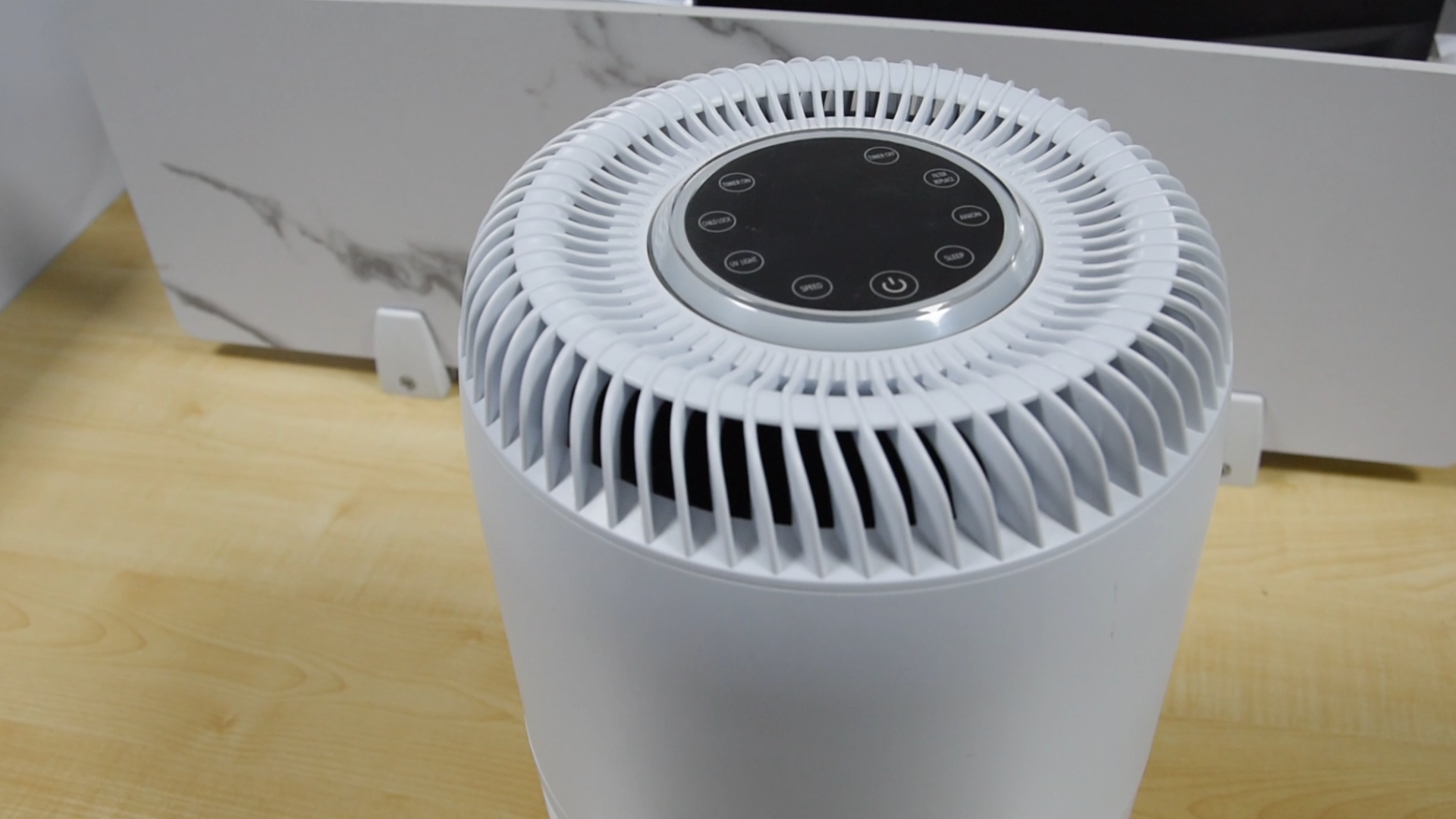CHINA Factory  APP Control Ion Air Purifier With HEPA Filter