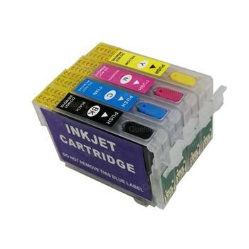 T1701 T1711 printer cartridge  refillable ink cartridge for Epson XP103/XP203/XP207/XP313/XP413