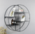 decorative Metal round wall display shelf for showroom