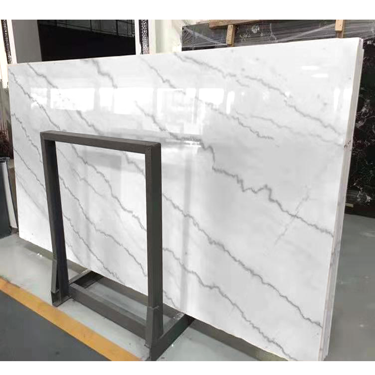 Stone 24*24 Crystal White Synthetic Marble Tile