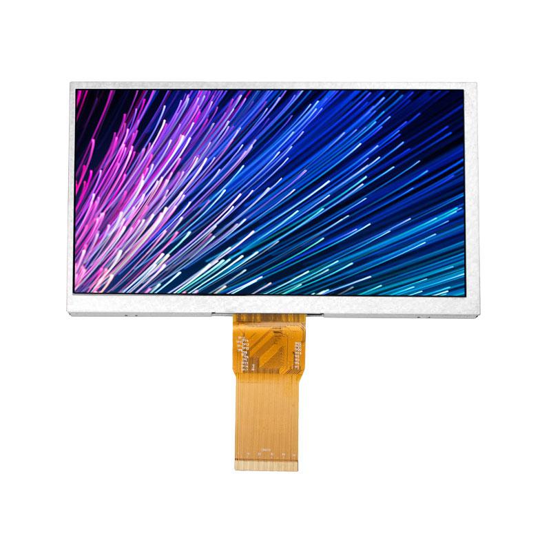 Lxdisplay 7 Inch IPS 1024*600 Màn Hình LCD Màn Hình, Nhà Máy Giá Độ Sáng Cao RGB Giao Diện Màn Hình LCD, điện Trở/5-Điểm Điện Dung