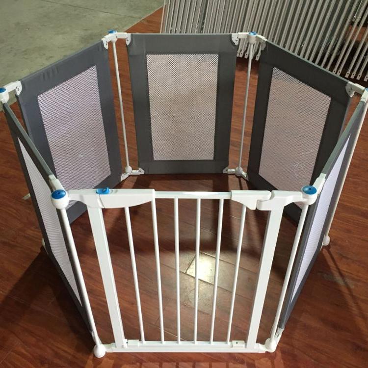 Factory supply Indoor Room Child Pet Safety Door Barrier Pet Door Security Baby Safety Door