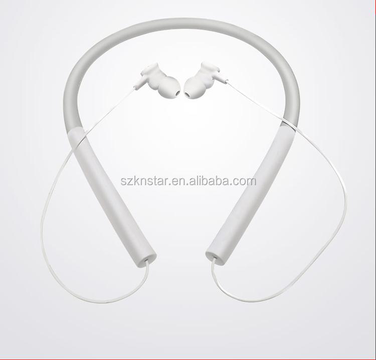 Amazon hot cheap price Neckband stereo headphones wired enjoy wireless sports headphones P-200