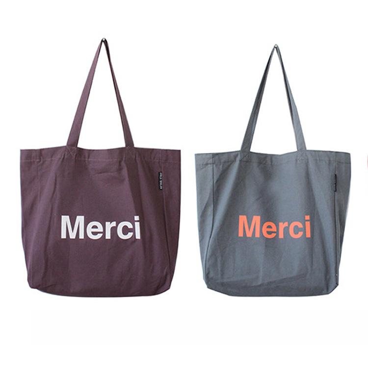 Высокое качество дешевые вторичной переработки большой заказ Печать холст тотализатор ручка ситцевый хлопок сумки для покупок с логотипом