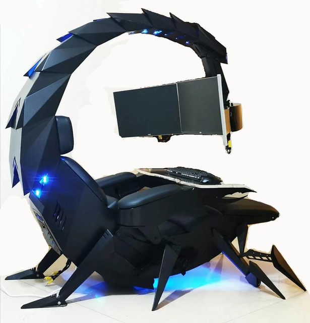Cluvens Chair Workstation Automatic Scorpion Pc Chair Buy Cluvens Chair Zero Gravity Cockpit Ingrem Pc Chair Product On Alibaba Com