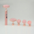 2020 Usb High quality USB rechargeable vibrating  Electric facial Rose Quartz Jade Roller
