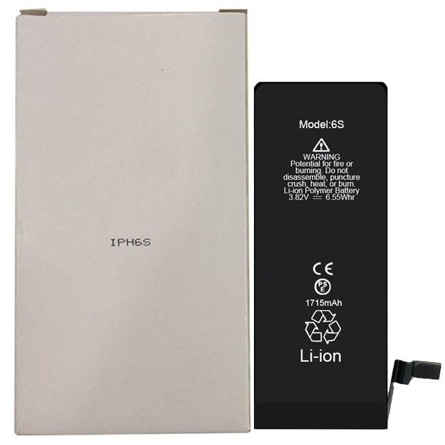 China New Brand OEM 100% Original 1715mAh phone battery for 6S 3.82V