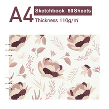 50 листов, профессиональный лист для рисования, А4, художественная живопись, скетч-бумага 8,2x11,4 дюйма для рисования, журналов, набросков(Китай)