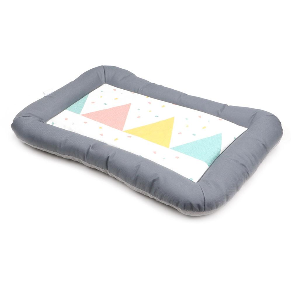 Keep Cooling Rigorous Stitching Dog Cushion Sponge Surrounding <strong>Edge</strong> Pet Mat <strong>Bed</strong>