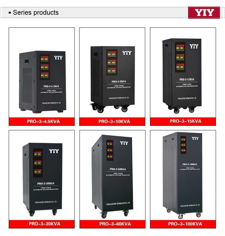 Brush Type Generator Automatic Voltage Regulator 60kva Stabilizer Mekanik Voltage Regulator