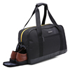 Large capacity foldable waterproof gym sport duffle travel bag with shoe compartment