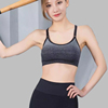 Striped fashion sports adjustable quick-drying fitness comfortable bra