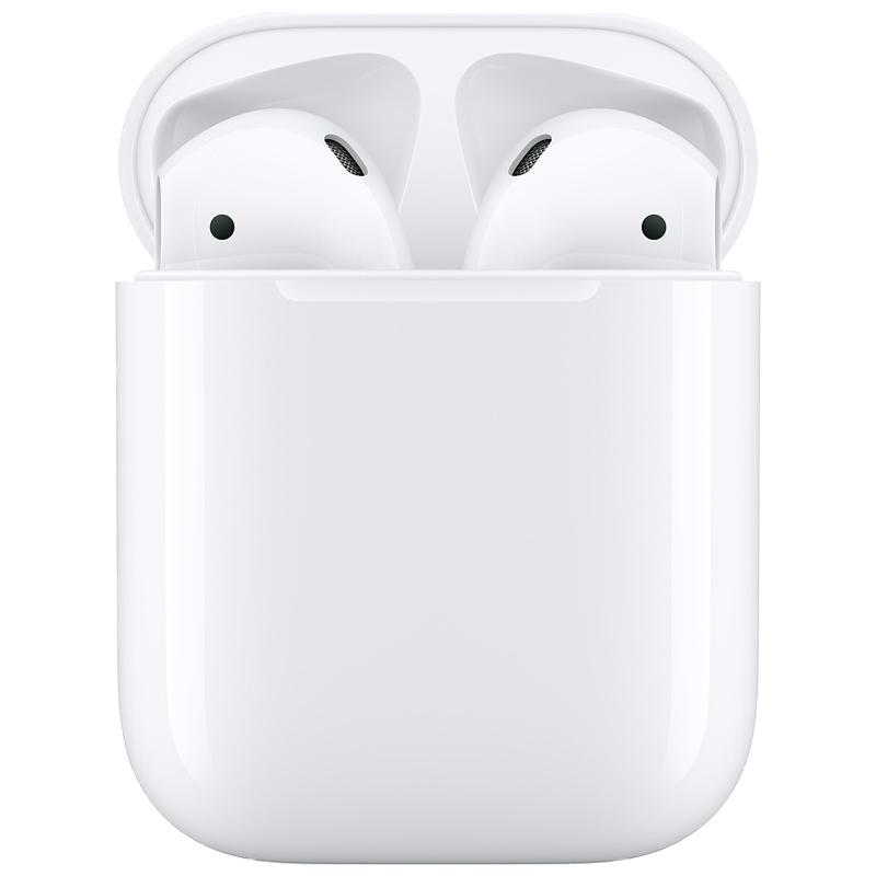 סין הרשמי אפל AirPods 2nd אלחוטי אוזניות עם Wired טעינה מקרה רעש הפחתת ב-אוזן Bluetooth עבור iPhone iPad