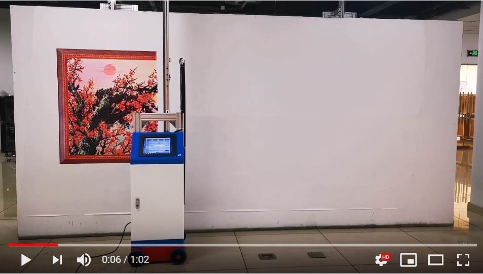 3D Large Wide Format Zeescape Vertical Wall Printing Mural Printer Machine Price