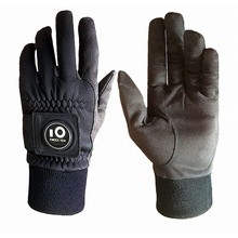 Amazon Hot Verkoop Oem Fabriek Winter Golf Handschoenen Mannen Met <span class=keywords><strong>Bal</strong></span> Marker Grip Custom Logo Koud Weer Winddicht Waterdicht