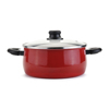 Factory wholesale non stick carbon steel enamel casserole cooking pot sauce pot cookware cook pot