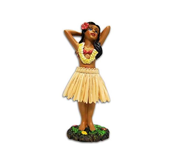 4.4 סנטימטרים הוואי הולה ילדה פוזות מיני לוח מחוונים בובה
