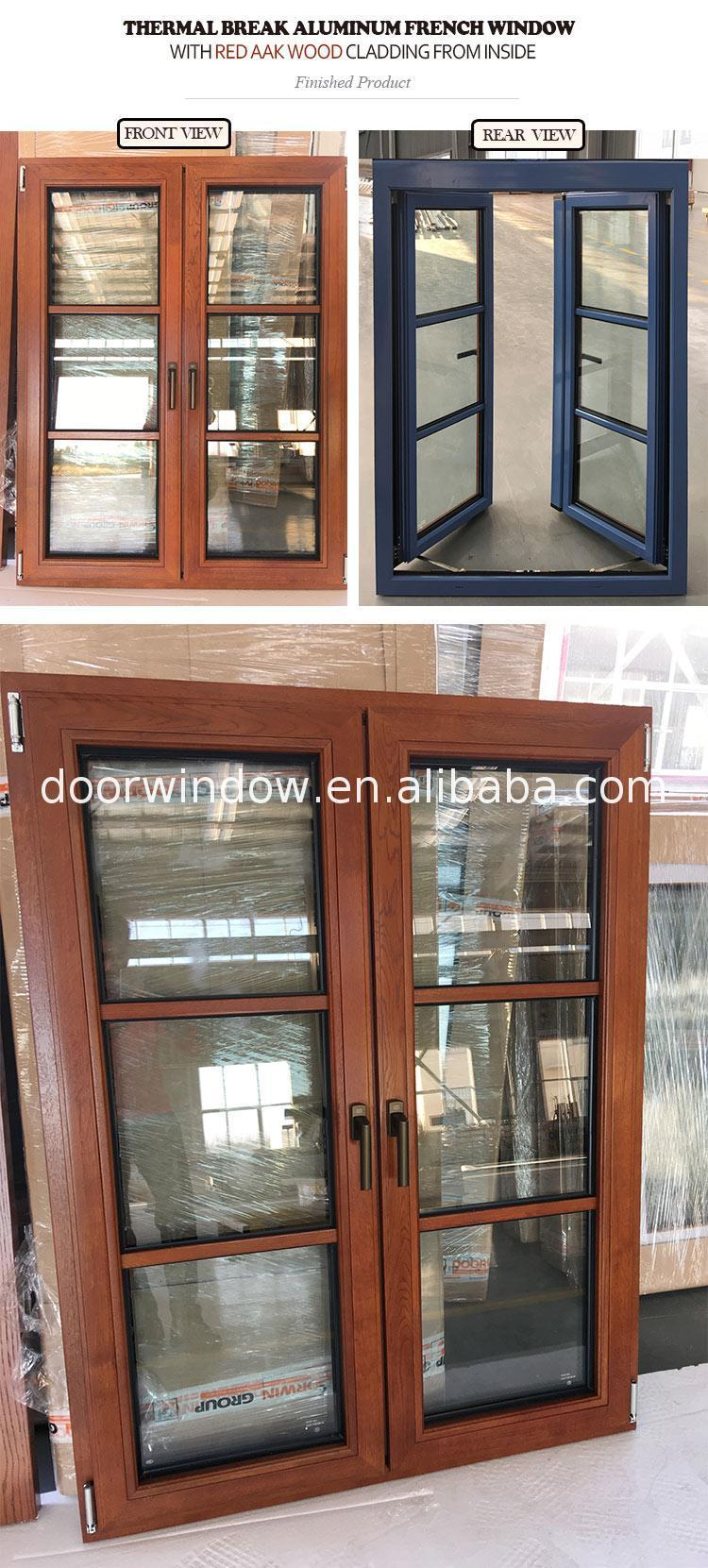 High quality french window size shutters security bars