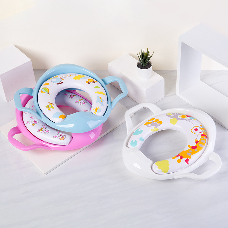 Best Choose Baby Care Product Soft Plastic Toilet Seat Cover