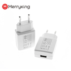 Logo Customization Phone Usb Charger EU Plug CE 5v 600mA USB Charger AC Power Adapter Mobile Phone