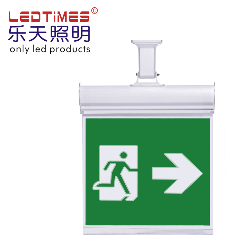 Dubbelzijdig Led Emergency Exit Sign board