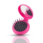 Travel Pocket Magic Hair Comb With Mirror Hair Brush