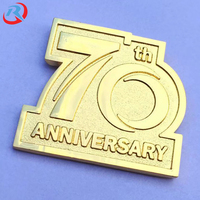 New OEM/ODM Gold Plating Customize Logo High Quality Metal Lapel Pin/Badge Wholesale