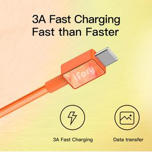 iFory android phone charging data cable 3ft