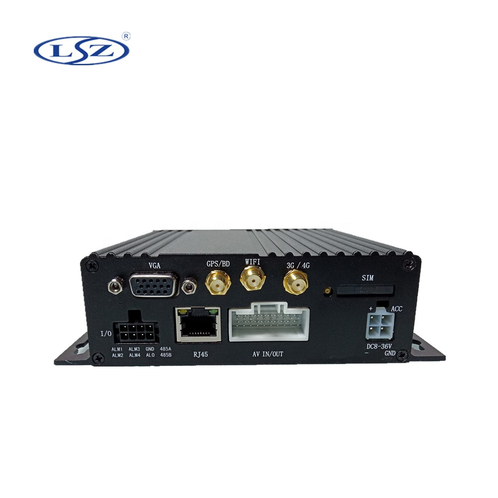 2020 Hot AHD 1080P 4CH 3G 4G GPS WIFI SD card Vehicle Mobile <strong>DVR</strong>
