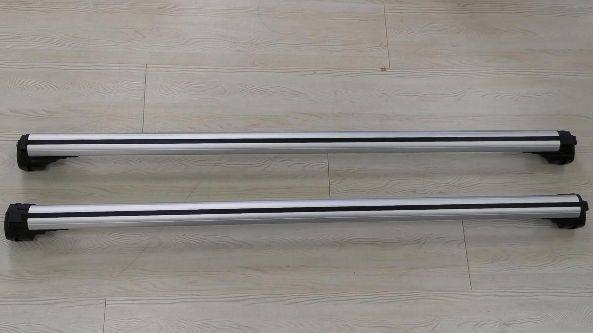 Custom Made Universal Aluminum Luggage Roof Rack Cross Bar