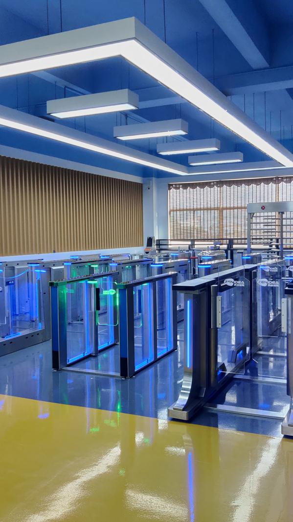 Akses Kontrol Sistem Keamanan Rfid Reader Automation Gate Barrier Geser Pintu Putar