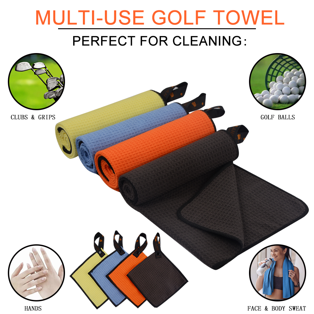 Sunland Custom Sports Golf Microfiber Towel Ring