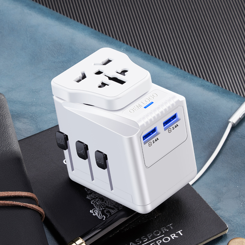 Factory promote bs8546 travel charger eu to uk adapter adaptor best for use